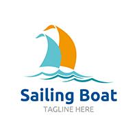 Sailing Boat - Logo Template