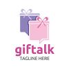 gift-talk-logo-template