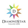 diamond-star-logo-template