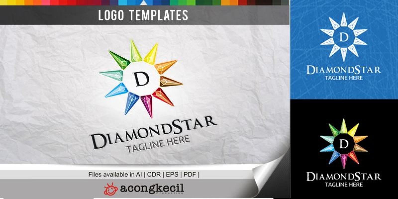 Diamond Star - Logo Template
