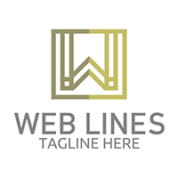 Web Lines - Logo Template