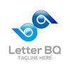 letter-bq-v2-logo-template