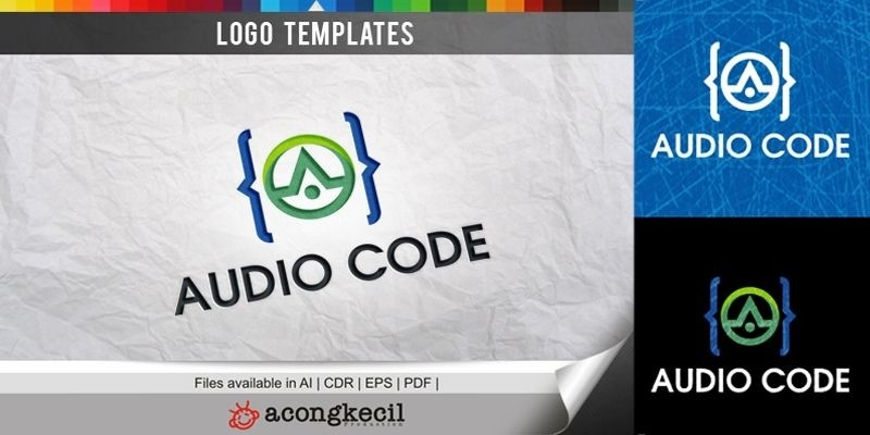 Audio Code - Logo Template