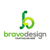 bravo-design-logo-template