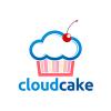 cloud-cake-logo-template