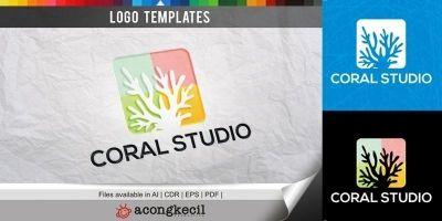 Coral Studio - Logo Template