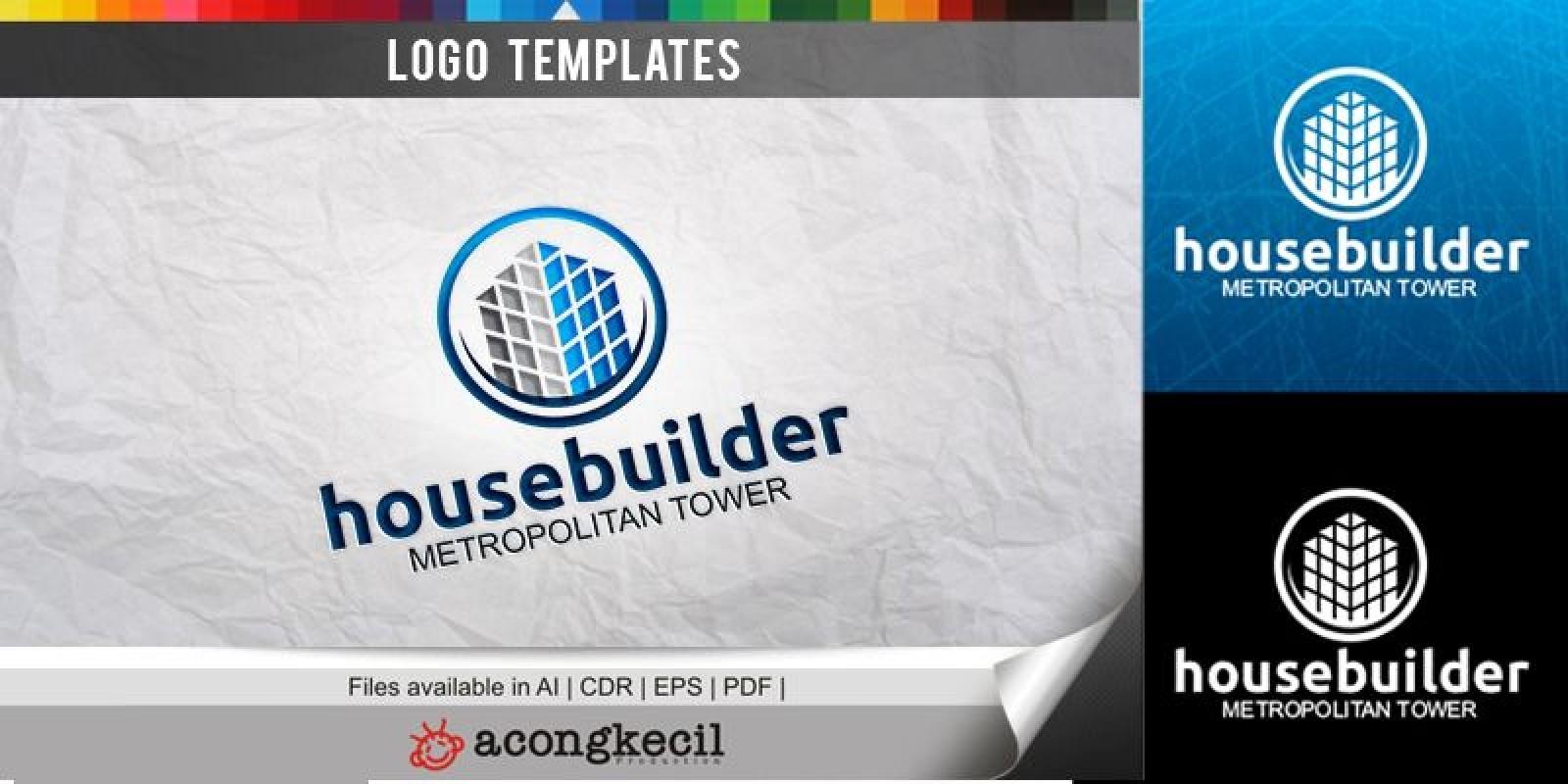 Housebuilder - Logo Template