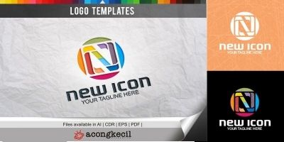 New Icon - Logo Template