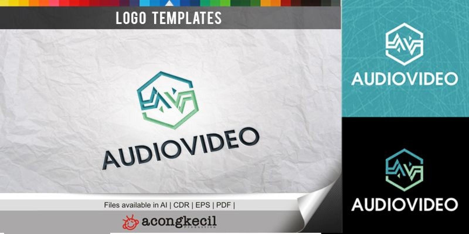 Audio Video V3 - Logo Template