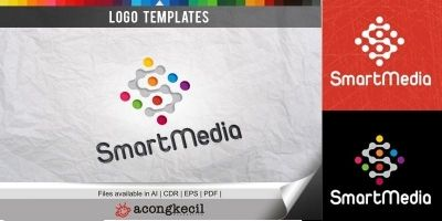 Smart Media - Logo Template