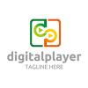 digital-player-logo-template