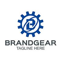Brand Gear - Logo Template