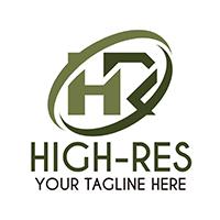 Hi-Res - Logo Template