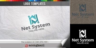 Net System - Logo Template