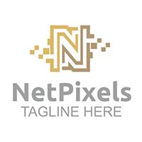NetPixels - Logo Template