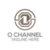 o-channel-logo-template