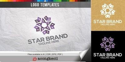 Star Brand V2 - Logo Template