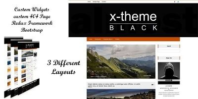 X-Theme - Responsive Wordpress Blog Theme