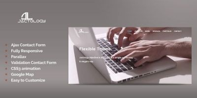 Jactology - HTML5 Business Template