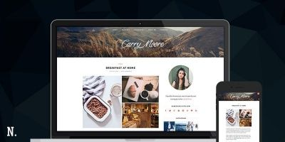 La Pura - Responsive Blog WordPress Theme