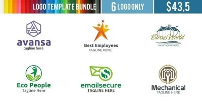 Logo Templates Bundle #9
