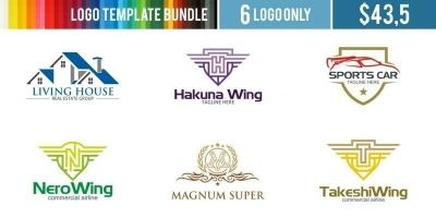 Logo Templates Bundle #13