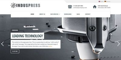 IndusPress - Business WordPress Theme