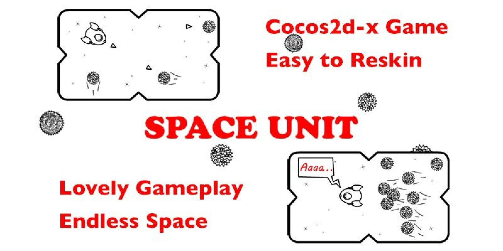 Space Unit - iOS Game Source Code