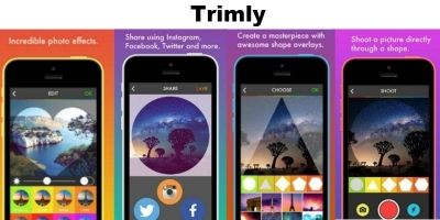 Trimly - Photo Overlay Filter iOS App Source Code