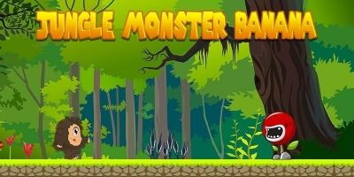 Monster Jungle Bananas - Android Game Source Code