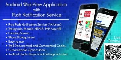 Android Webview Application Template