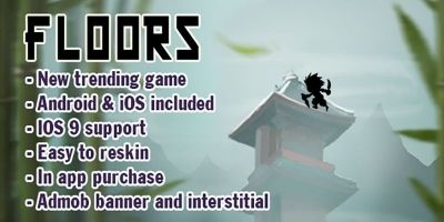 Floors  - iOS & Android Game Source Code