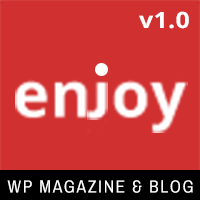 Enjoy - WordPress Magazine and Blog Theme
