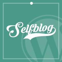 Selfblog - Personal WordPress Theme