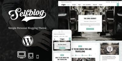Selfblog - Personal WordPress Theme