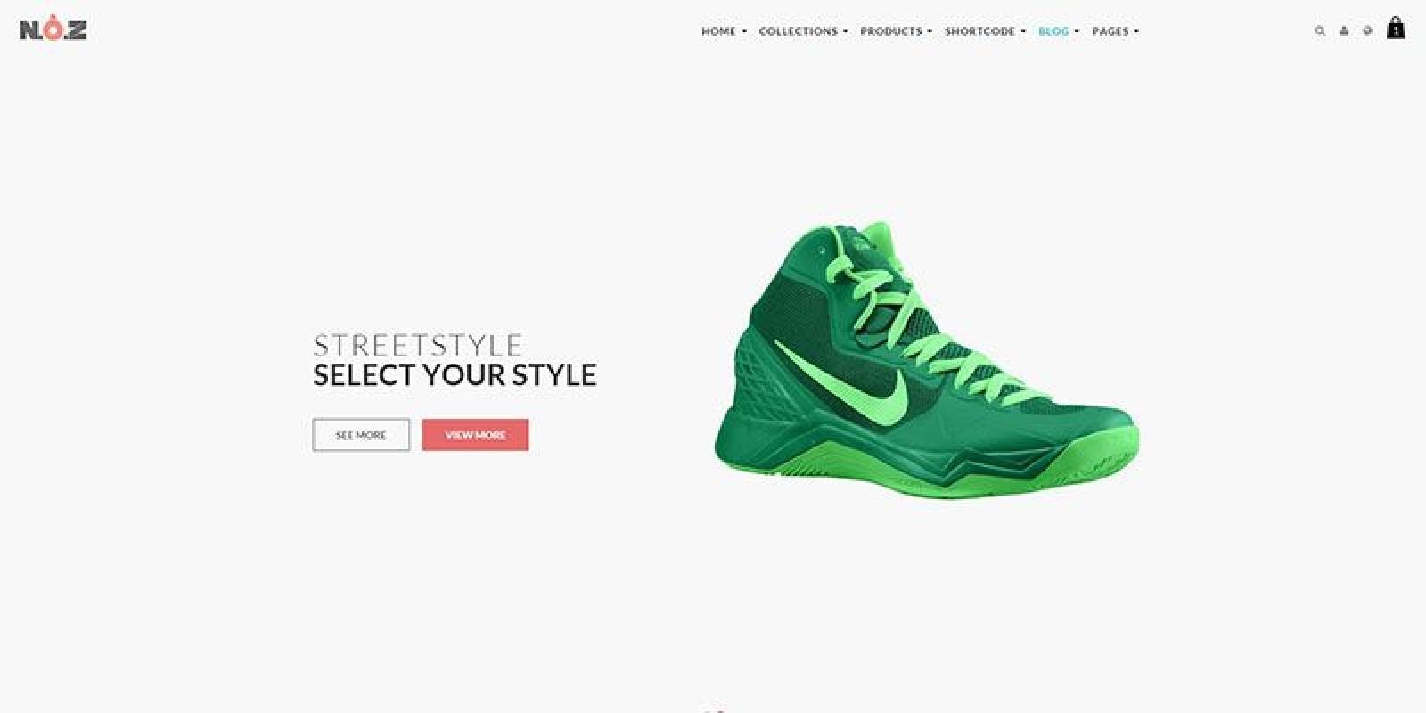 AP Shoes Store - Shopify Theme