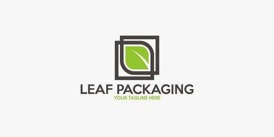 Leaf Packaging - Logo Template