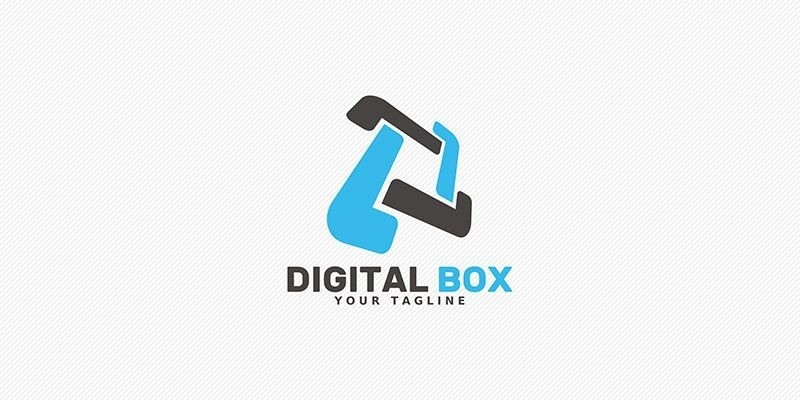 Digital Box - Logo Template