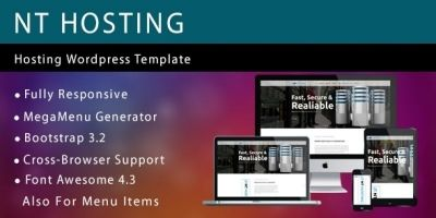 NT Hosting - Hosting Wordpress Theme