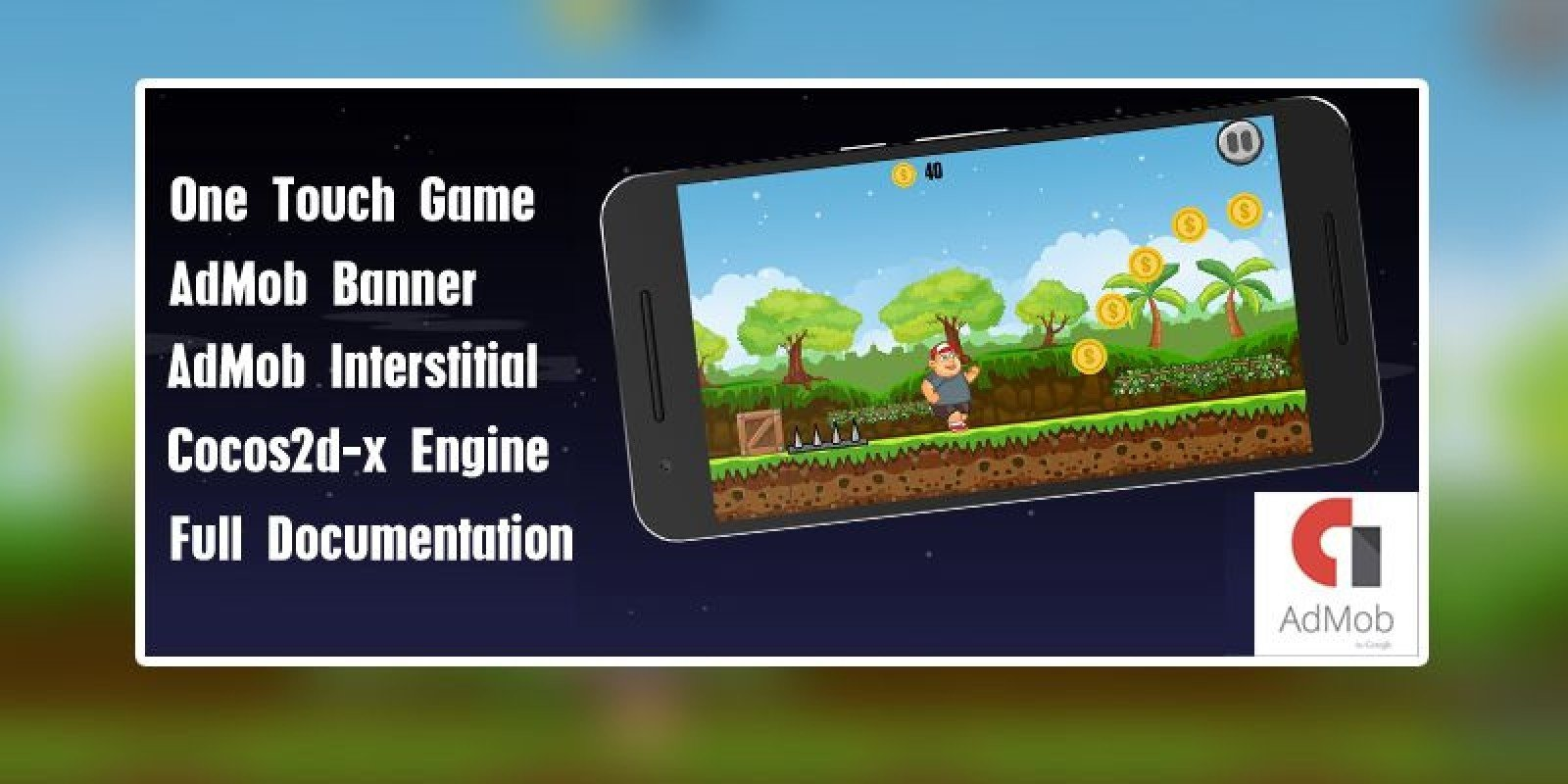 The Runner Boy - Android Game Source Code