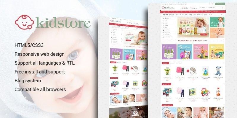Kidstore - Children & Kids PrestaShop Theme