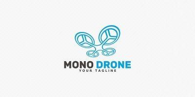 Mono Drone - Logo Template