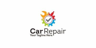 Car Repair - Logo Template