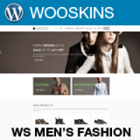 WS Mens Fashion –  WooCommerce Theme