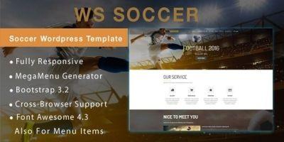 WS Soccer –  WooCommerce Wordpress Theme