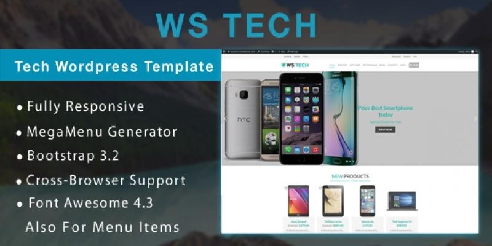 WS Tech – Tech WooCommerce Theme