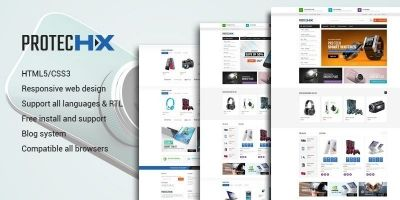 Proteus HX - Tech Store PrestaShop Theme