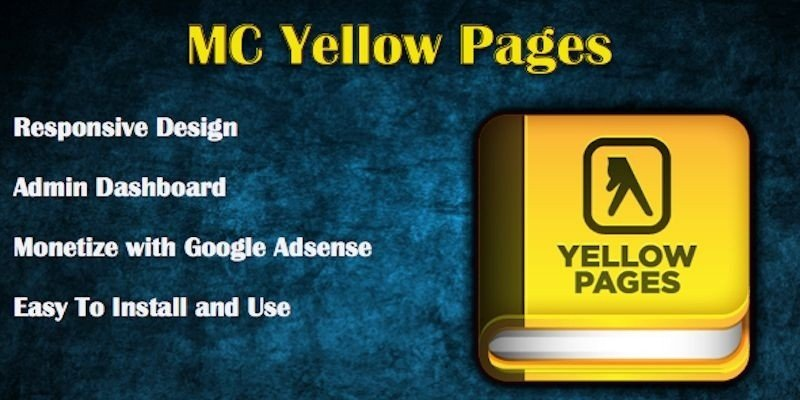 MC Yellow Pages PHP Script