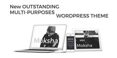 Moksha WordPress Photography Theme