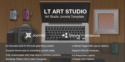 LT Art Studio – Creative Joomla Template